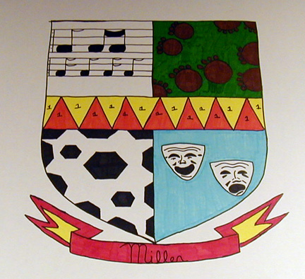 coat of arms project Find and save ideas about coat of arms on pinterest | see more ideas about history and heraldry, family crest and family shield middle ages coat of arms project.